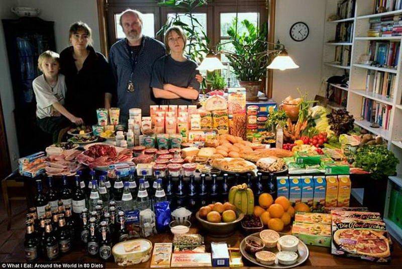 Что едят в разных странах на новый год